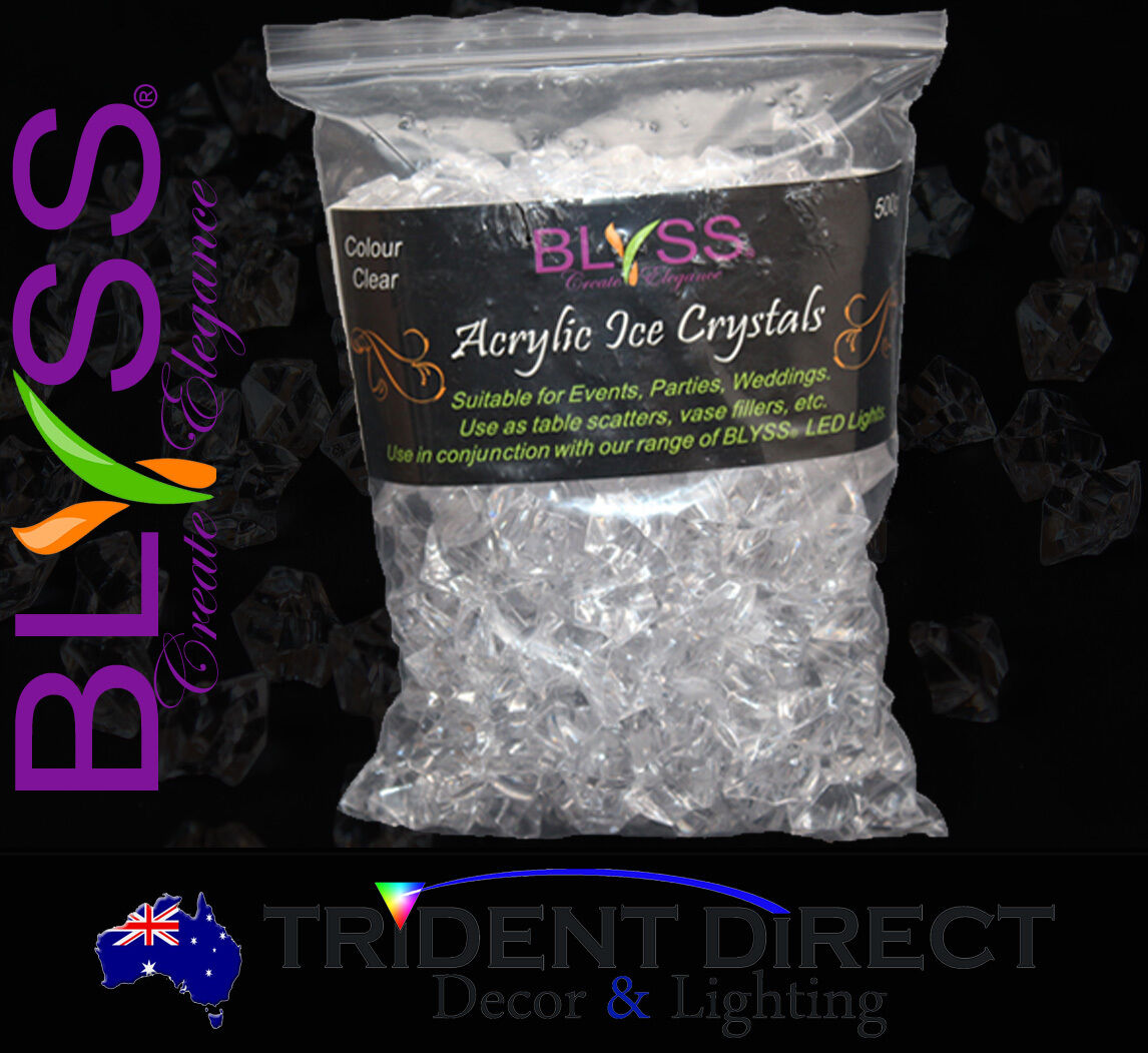 Blyss large acrylic ice crystals 500g table scatters ebay blyss large acrylic ice crystals 500g table scatters reviewsmspy