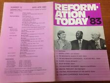 Reformation Today magazine, Issue 72 March- April 1983