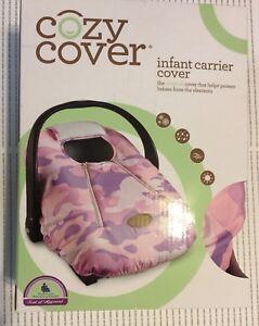 Excellent Details About Cozy Cover Infant Car Seat Cover Pink Camo Inzonedesignstudio Interior Chair Design Inzonedesignstudiocom