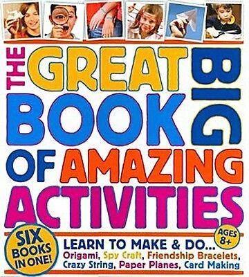 Great Big Book of Amazing Activities NEW hardcover kids crafts fun party art