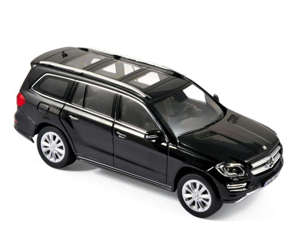 Mercedes GL 500 noir mat 2012 1 43 Norev