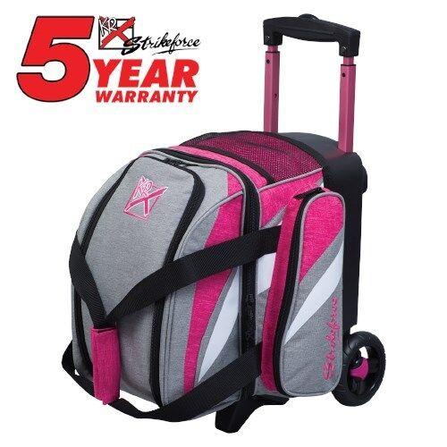 KR Strikeforce Cruiser Stone Pink 1 Ball Roller Bowling Bag