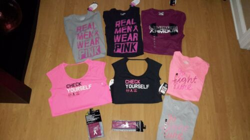 "Tanks OR Accessories Under Armour Men,Women or Girls/' /""Power In Pink/"" Shirts"