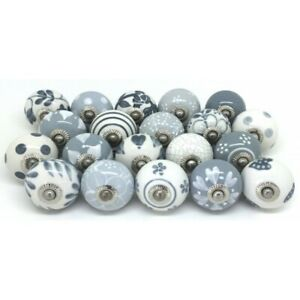 Details About Hand Painted Ceramic Knobs Cabinet Decor Room Furniture  Cupboard, Wardrobe Knobs