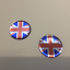 UNION-JACK-STICKERS-X-2-HIGH-GLOSS-DOMED-GEL-FINISH miniature 1
