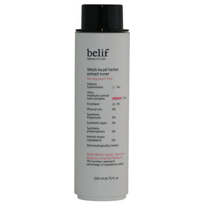 Witch Hazel Herbal Extract Toner by belif #20