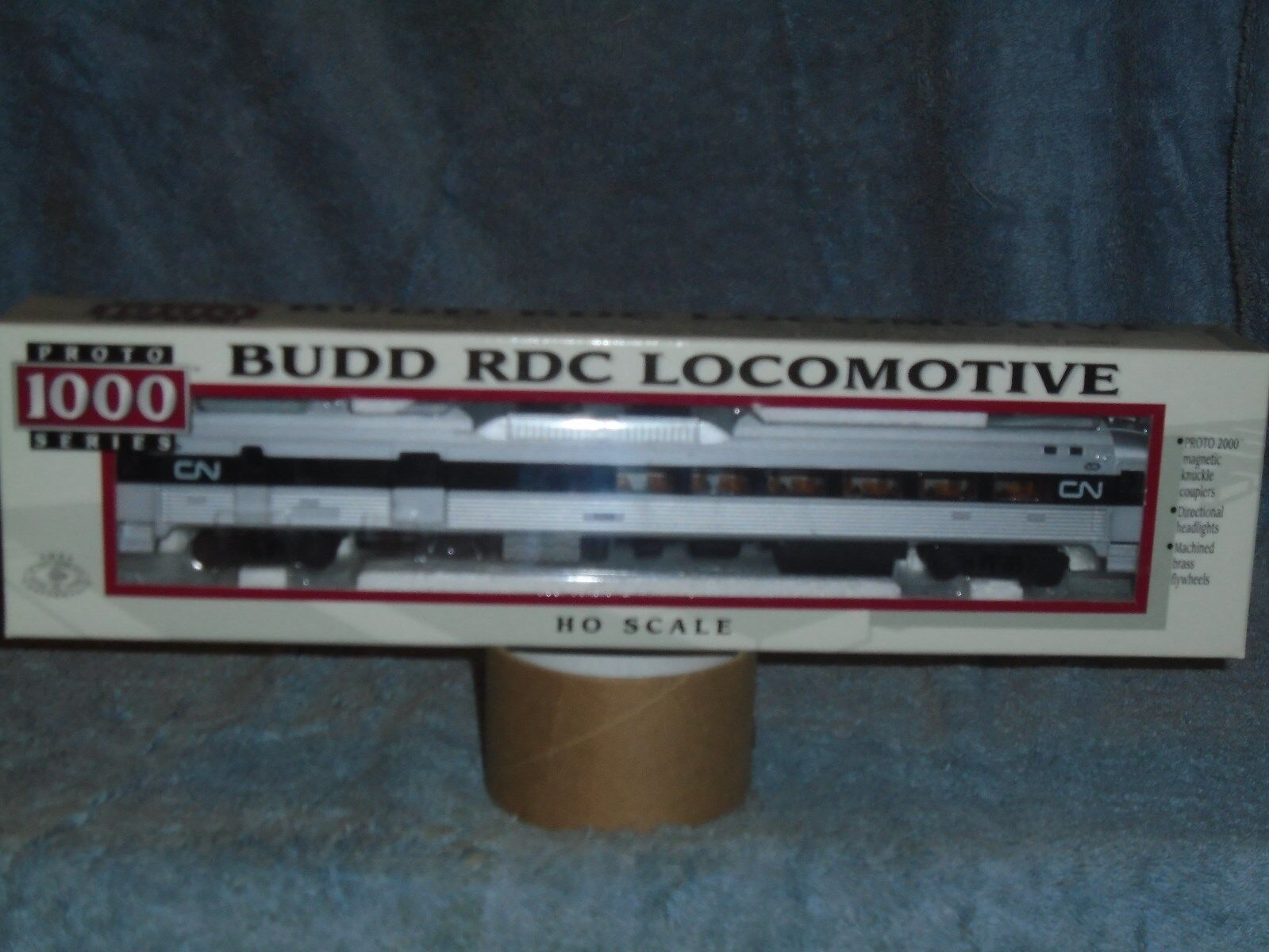 ProssoO 1000 HO SCALE  239732 BUDD RDC LOCOMOTIVE CANADIAN NATIONAL B R  6350