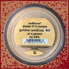 Bare Escentuals Bare Minerals Foundation GOLDEN MEDIUM W20  Original  8g SPF15