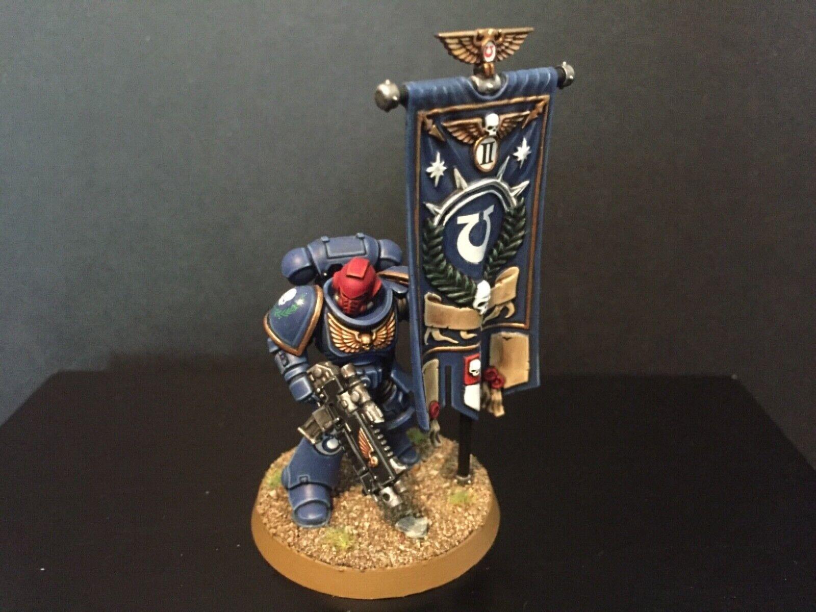 Warhammer 40k Dark Imperium Primaris Marines Ancient Standard