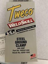 Welding Steel Ground Clamp Tweco 500 Amp Wsgc 500 500amp Weldskill Welder Metal