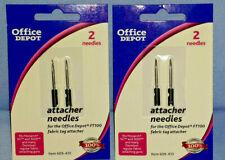 2 Pack X2 Fabric Attacher Needles Monarch Sg3020 Office Depot Ft100 Dennison