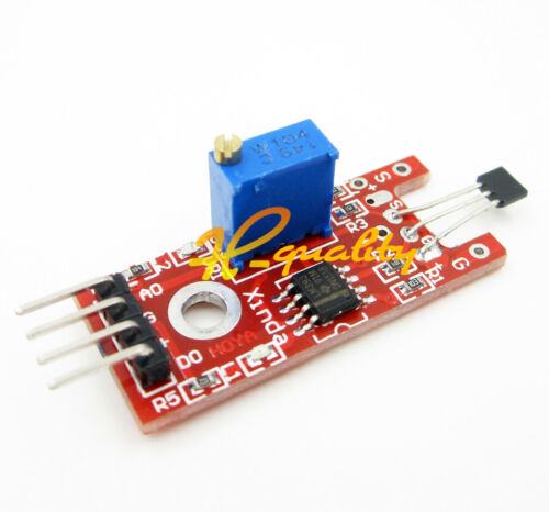 2PCS Hall Magnetic Standard Linear Module For Arduino AVR PIC Good New