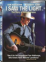 I Saw The Light Dvd - Tom Hiddleston - Hank Williams - Elizabeth Olsen
