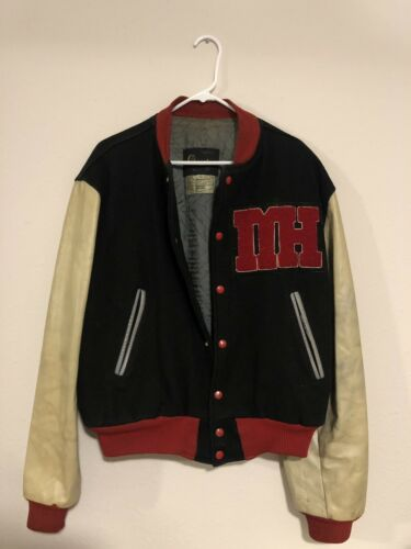 1960's Champion Running Man Tag Varsity Jacket vtg