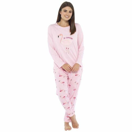 Damen Undercover Langer Winter Bequem Pyjama Hausanzug Nachtwäsche Schlafanzug