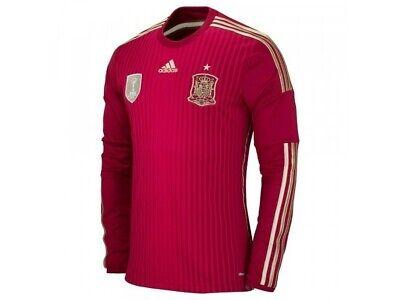 Adidas SPAIN ESPANA FEF Soccer Football ClimaCool Home Jersey LS Men XL M60434 887778206342   eBay