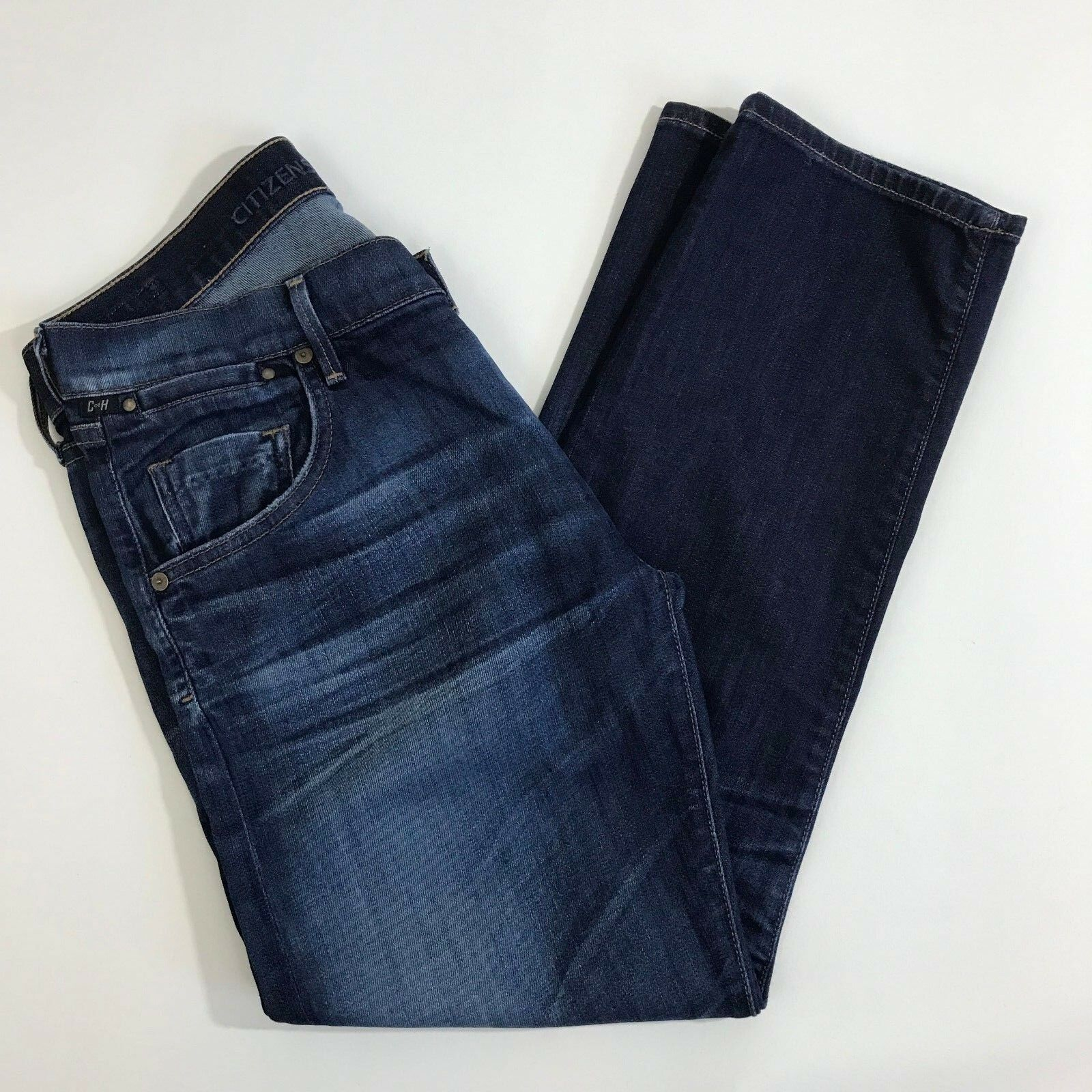 COH Citizens Of Humanity Size 27 Dylan Drop Rise Cropped bluee Jean Womens