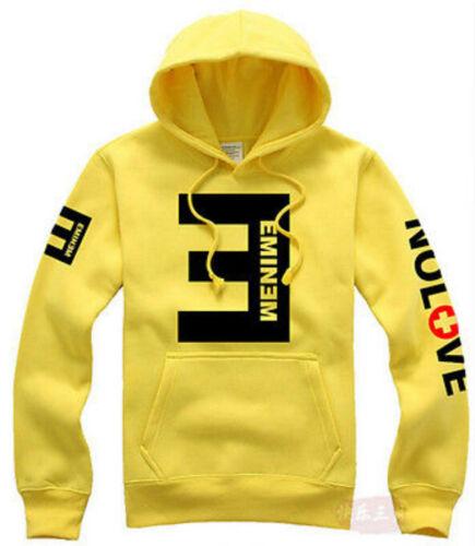 Unisex Eminem NO LOVE Man Hooded Hoodie Coat Lil Wayne Hoody Sweatshirt Costume