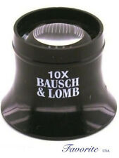 BAUSCH & LOMB WATCHMAKERS LOUPE MAGNIFIER 10X 81-41-70