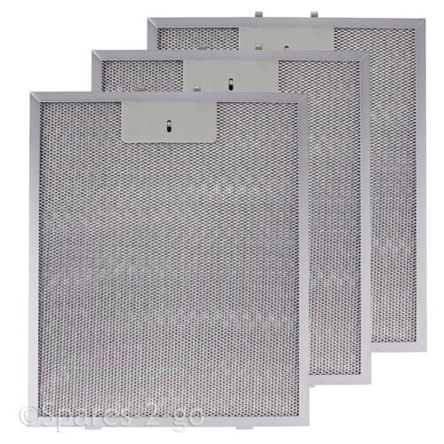 3 x Grease Filters For BOSCH SIEMENS Cooker Hood Extractor Vent Fan 320 x 260mm