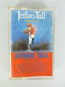 Vintage 1985 Jethro Tull Original Masters Cassette Tape Rock