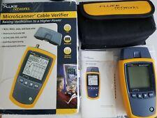 Fluke Networks Ms2 100 Microscanner2 Cable Verifier