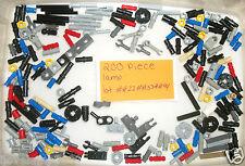 Lego 200 Technic Connectors 6541 30374 32123 32062 6628 6590 4735 2780 4SET 8547