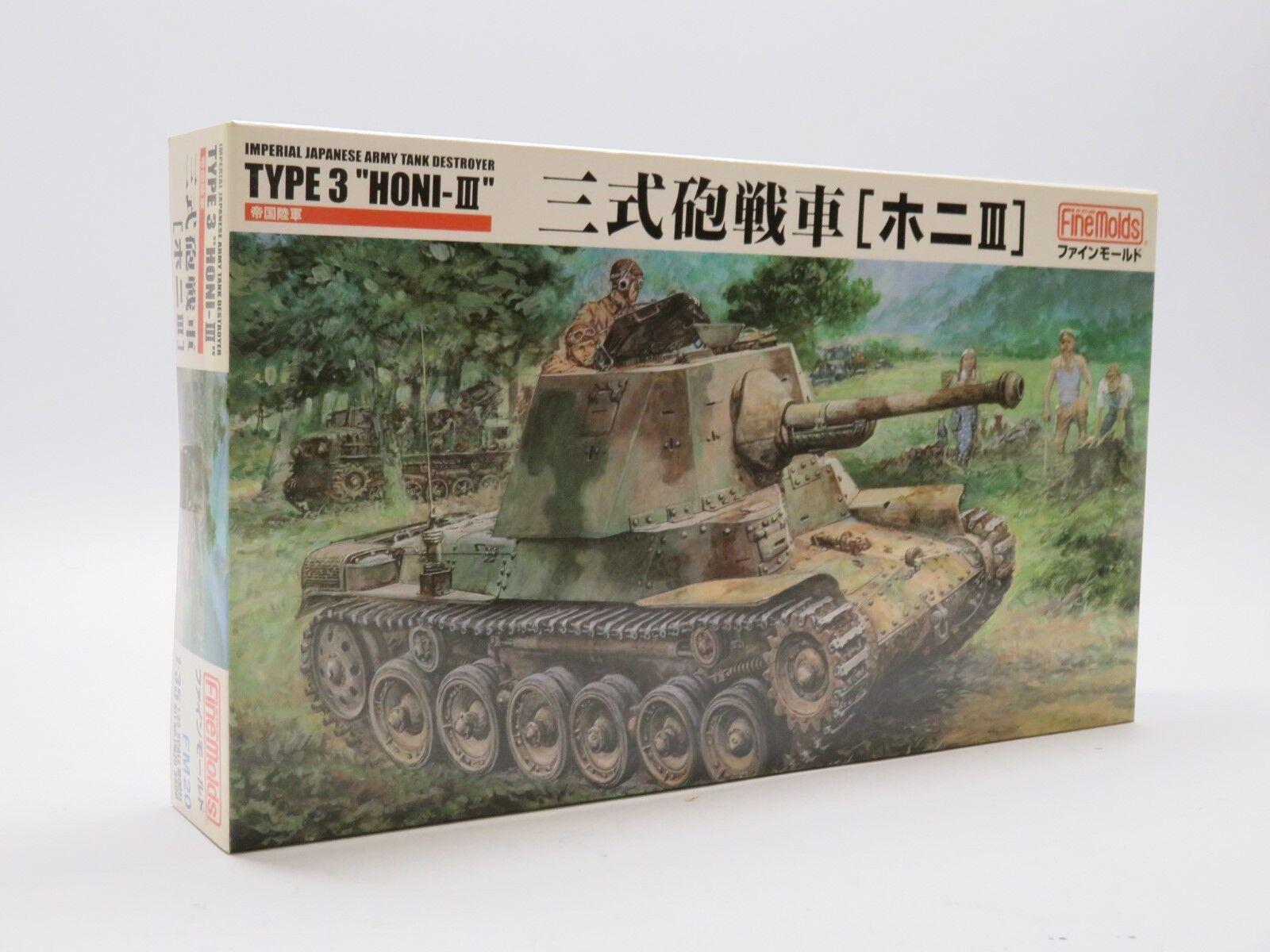Fine-molds 1 35  IJA Type 3 Honi III 75mm Gun Tank   FM20