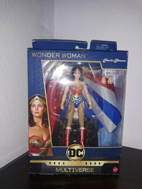DC Multiverso Signature Collection Wonder Woman 1970s LYNDA CARTER Figura Nuovo