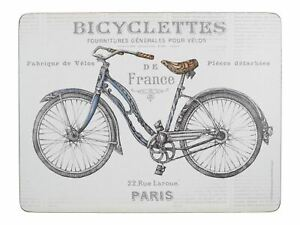 Creative-Tops-Bicycle-Pack-Of-6-Premium-Placemats