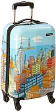 """Samsonite Luggage Cityscape 20"""" Hardside Spinner 4 Wheeled Expandable Carry On"""