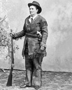 MARTHA-CALAMITY-JANE-Glossy-8x10-Photo-Print-Vintage-Wild-West-Poster