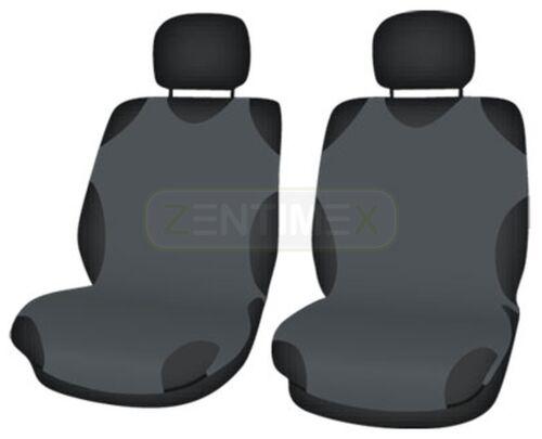 Sitzbezüge dunkel grau vorne KOS TOYOTA AVENSIS