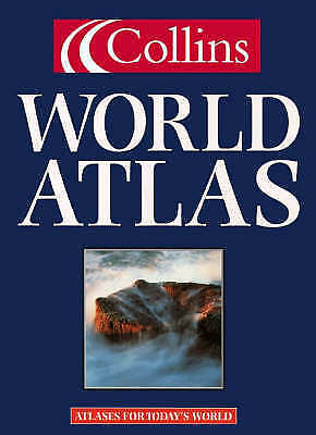 """""""AS NEW"""" Collins, Collins World Atlas, Book"""