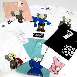 KAWS-UNIQLO-UT-Summer-2019-Collaboration-Companion-BFF-Mens-TEE-T-Shirt