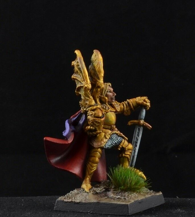 Painted Lord Stronghart from Reaper Miniatures Miniatures Miniatures D&D red heraldic knight f26232