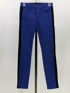 c580d066a37988 Joes jeans deep blue with black tuxedo stripe skinny jeans sz 25 ...