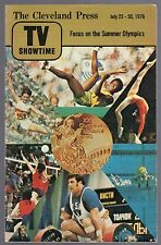 1976 TV SHOWTIME GUIDE~MONTREAL OLYMPICS~ONE LIFE TO LIVE~SEARCH FOR TOMORROW