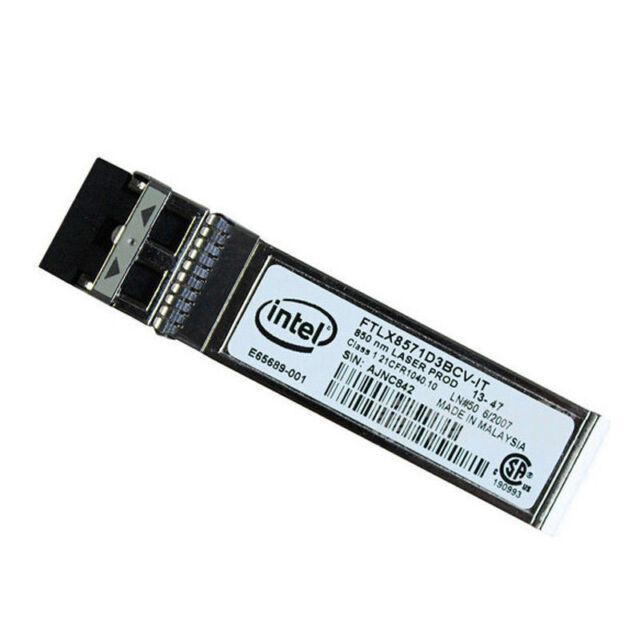 Intel Transceiver E10GSFPSR FTLX8571D3BCV-IT E65689-001 SFP+ For X520-DA2/SR2