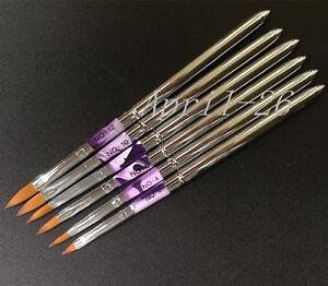 6PCS-Pinceau-Brosse-Flat-Acrylique-Gel-UV-Peinture-Deco-Pen-Brush-Set-Nail-Art
