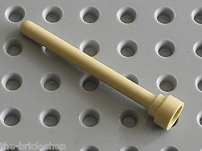 Lego 2 x Antenne 3957 beige tan 4H  4768 7113