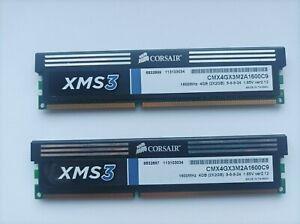Corsair XMS3 4 Gb (2 x 2Gb) DDR3 SDRAM Mémoire RAM (CMX4GX3M2A1600C9)