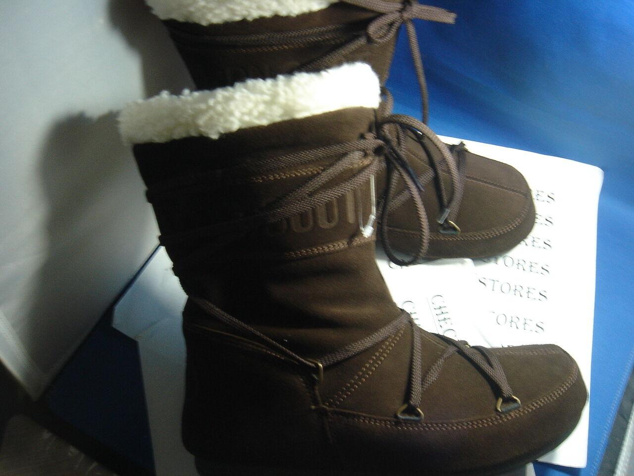 Nuevas botas Tecnica Moon ® mantequilla a mediados de arranque ocre o marrón Nuevo Invierno 14015700
