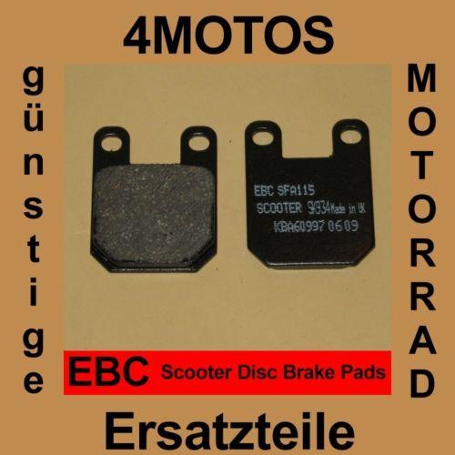 Bremsbeläge EBC Peugeot Zenith 50 vorne