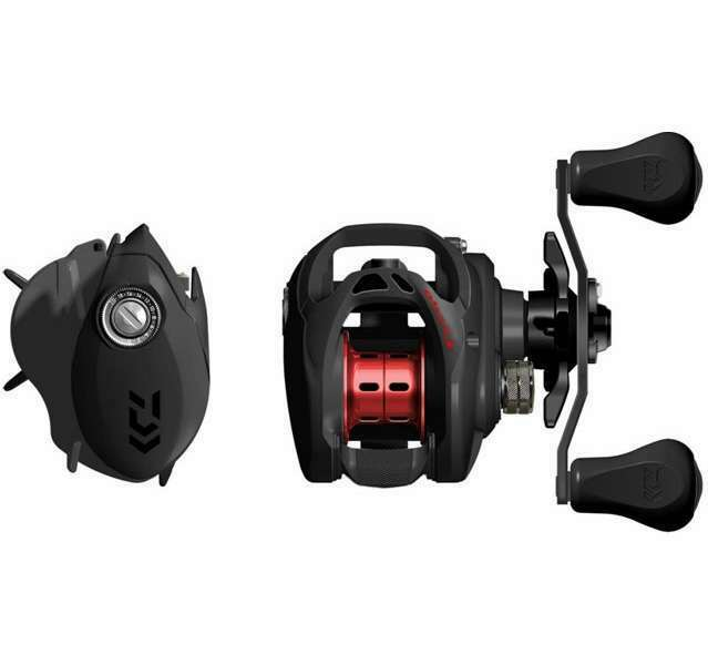 NEW Daiwa Fuego Low Profile Baitcast Reel 6.3 1 Left Hand FGCT100HL