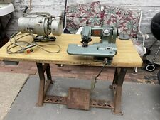 Us Blindstitch 718 2 Industrial Commercial Blind Stitch Sewing Machine Usa Made