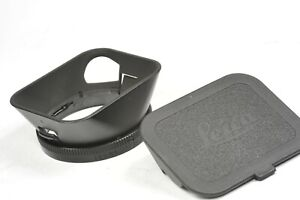 Leica-Leitz-12589-LENS-HOOD-with-FRONT-CAP-for-35mm-f1-4-Summilux-M-ASPH