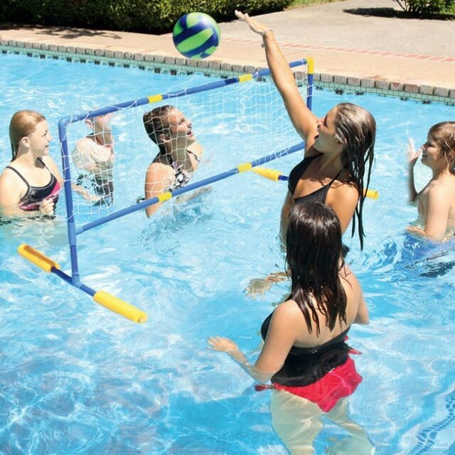 Aqua Fun Floating Water Volleyball Game