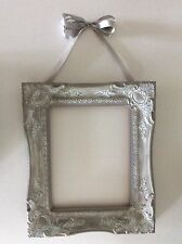 Vintage Ornate Plaster Frame Open Back Wall Decor Shabby Chic Antique