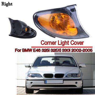 Yellow Corner Light Right Side For BMW E46 325i 325Xi 330i 2002-2005